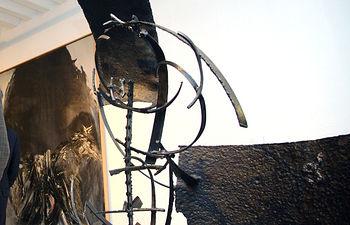 Imagen de la exposición 'El Paso, a la moderna intensidad', del Grupo El Paso, en la Casa Zavala de Cuenca.