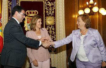 Cospedal preside la firma de un convenio de colaboración II. Foto: JCCM.