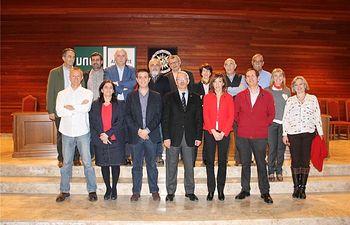 Presidente de la Diputación y rector de la UNED mantienen un encuentro con la nueva directora del centro asociado