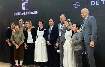 Presentación de Tarancón en el Día de Cuenca en FITUR.