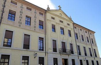 Fachada Seminario Mayor de Toledo.
