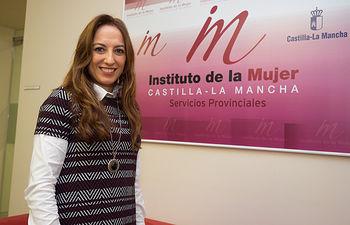 Mercedes Márquez, directora provincial del Instituto de la Mujer de Castilla-La Mancha en Albacete