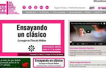 Fotografía de la web del Festival de Teatro Clásico de Almagro