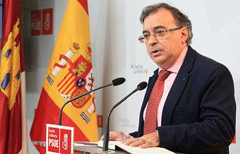 Fernando Mora, portavoz de Sanidad del Grupo socialista en las Cortes de Castilla-La Mancha.