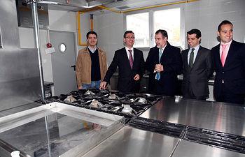 Marcial Marín visita la obras de la Residencia Universitaria Benjamín Palencia. Foto: JCCM.