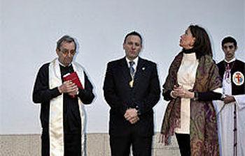 Inauguración Plaza Cristo de la Bondad