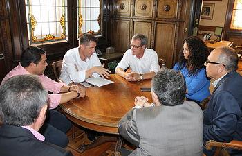 Santiago Cabañero - Reunión ASPRONA.
