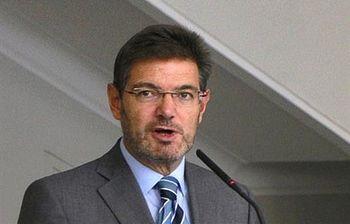 El ministro de Justicia, Rafael Catalá. Foto: Ministerio de Justicia.