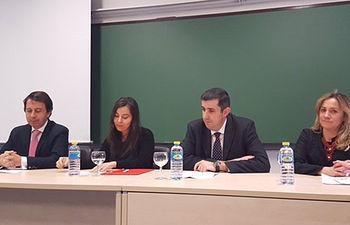 Inauguración del seminario de Derecho Notarial.