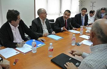 Reunión del Patronato de la Fundación Tierra de Viñedos. Foto: JCCM.