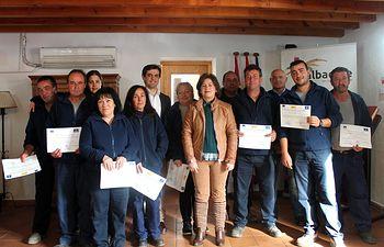 Clausura del taller de empleo 'Monte Regalí' de Letur