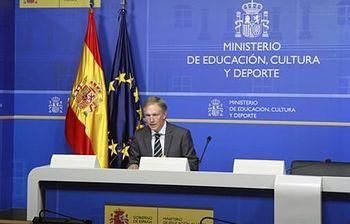 Miguel Angel Recio, presidente del Jurado, y director general de Bellas Artes. (Ministerio). Foto: Ministerio de Educación, Cultura y Deporte.