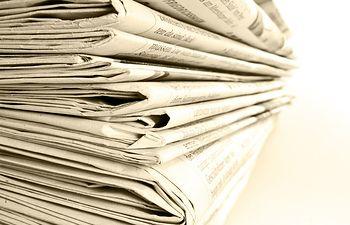 Periódicos. Foto de Archivo.