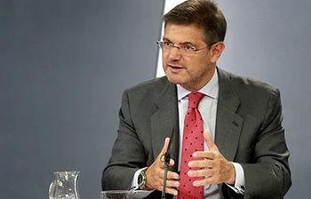 El ministro de Justicia, Rafael Catalá. (Foto archivo)