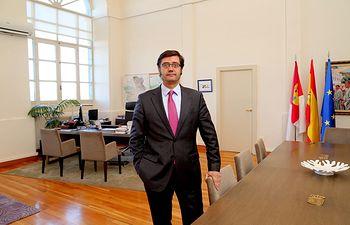El consejero de Hacienda, Arturo Romaní. Foto: JCCM.