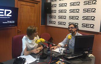 Cospedal en la entrevista en Cadena Ser CLM