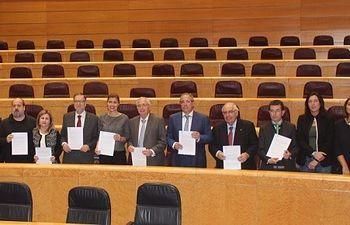 Mesa y portavoces de la Comisión General de Comunidades Autónomas