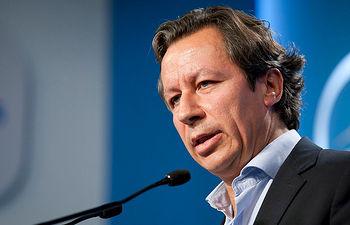 Carlos Floriano durante la Rueda de Prensa