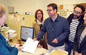 El PSOE de Albacete registró este viernes en la Oficina Electoral de Zona su candidatura al Ayuntamiento de Albacete