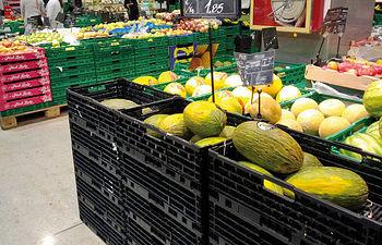 El precio del melón en los mercados multiplica varias veces el que recibe el agricultor por el producto.