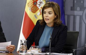 Soraya Sáenz de Santamaría - 26-09-14