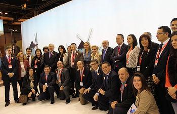 Alcaldes de Ciudad Real dan a conocer las propuestas turísticas de sus localidades en FITUR 2015