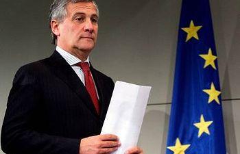 El comisario europeo de Industria y Emprendimiento, Antonio Tajani. EFE