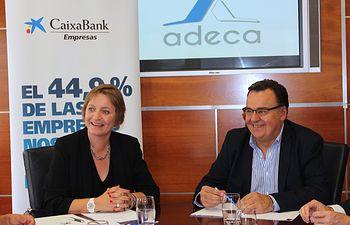 Firma convenio CAIXABANK - ADECA