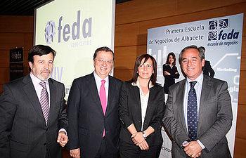 Sánchez Pingarrón, clausuró anoche la Asamblea de FEDA.