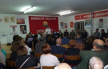 Plataforma Santi Cabañero en Casas Ibañez