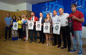 Presentación del Campeonato de España de Triatlon en Almansa