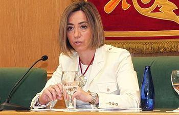 Carme Chacón. Foto: Ministerio de Defensa.