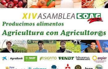 La Ministra de Agricultura, García Tejerina, clausura este sábado la XIV Asamblea General de COAG. Foto: COAG.