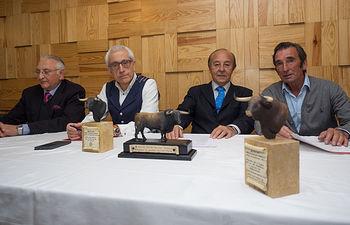Presentación de la Gala de los X Premios Taurinos Samueles.