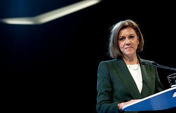 La Secretaria General del Partido Popular María Dolores de Cospedal