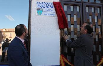 Inauguración dependencias Policia Local Consuegra
