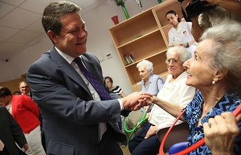 Inauguración de la residencia para enfermos de Alzheimer de Valdepeñas.
