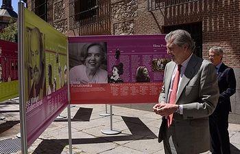 El ministro de Educación, Cultura y Deporte, Íñigo Méndez de Vigo, en la inauguración de la exposición. (Foto Ministerio)