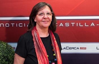 Victoria Delicado, candidata de Ganemos a la alcaldía de Albacete.