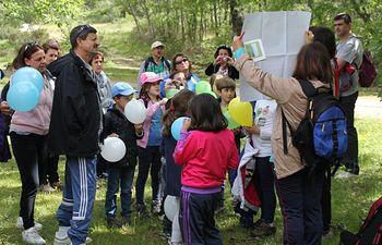 Excursión Encantados por el bosque. Foto: Ministerio de Agricultura, Alimentación y Medio Ambiente
