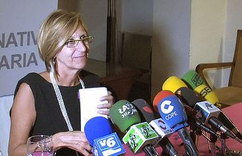 Rosa Díez, diputada Nacional y Portavoz de Unión, Progreso y Democracia