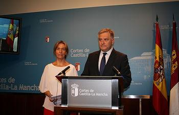 Ana Guarinos y Francisco Cañizares.