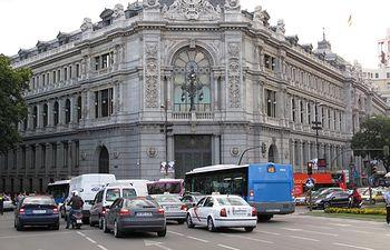 Banco de España en Madrid. Imagen de archivo.