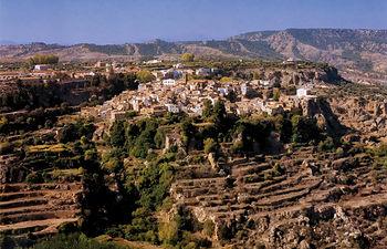 Letur constituye el conjunto musulmán más importante y mejor conservado de la provincia de Albacete
