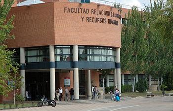 Facultad de Ciencias Económicas y Empresariales de Albacete. Foto de Archivo.