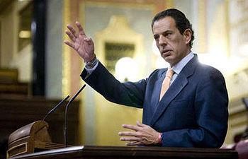 Rafael Merino, en el Congreso. EDU PARRA