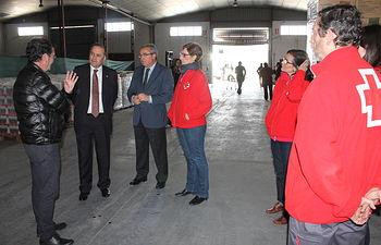 José Julián Gregorio visita Cruz Roja Toledo