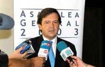 Alberto Saiz, consejero de Industria y Trabajo