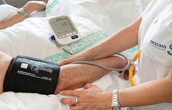 La Unidad de Hipertensión y Riesgo Vascular del Hospital General Universitario de Ciudad Real atiende cada mes a 350 pacientes. Foto: JCCM.