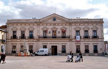 Ayuntamiento de Alcázar de San Juan, antiguo Casino Principal.